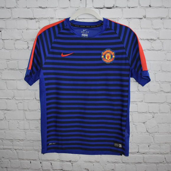 low cost fd6fb 0cefb Nike Dri-Fit Manchester United Soccer Tee Shirt
